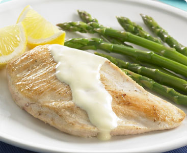 Chicken and Asparagus Roulades
